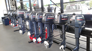 YAMAHA OUTBOARDS PORTABLE F2.5HP TO F15 plus 2 stroke 3hp to 40hp Pialba Fraser Coast Preview