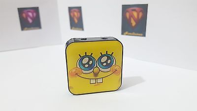 Mini cube sponge bob MP3 player with accessories,fantastic sound