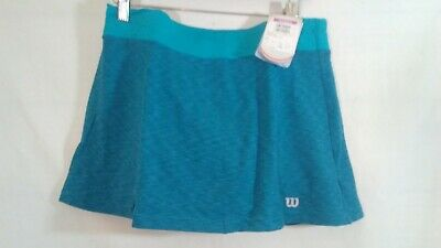 Wilson Womens Tennis Skirt Medium New Polyester Elastine Eastern Shoreline