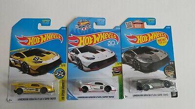 Hot Wheels Lamborghini Huracan LP 620 Lot Of 3