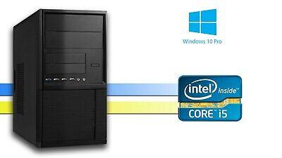 Intel Core i5-3470 4x bis 3.6 GHz 8 GB DDR3 RAM 512 GB SSD W10Pro 64 bit  (Intel Core I5 64 Bit)