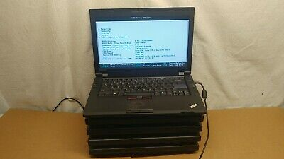 "Lot of 5 IBM Lenovo ThinkPad SL410 Laptops Intel Core 2 Duo 14"" LCD TYPE 2842"