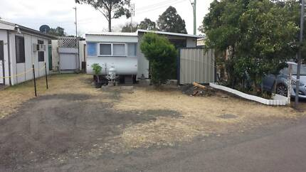 Permanent suite & permanent living caravan and annex
