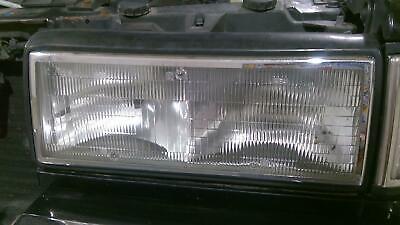 91-93 Cadillac Sedan Deville Driver Left Headlight with Mount OEM
