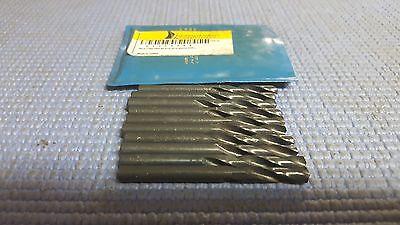 Interstate - Screw Machine Drill #8, 118 Degree Drill Point Angle, Spiral Flute