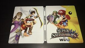 Super SmashBros WiiU SteelBook! (No game)