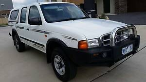 2002 Ford Courier Turbo Diesel - 4x4 LONG REG!!! Coburg North Moreland Area Preview
