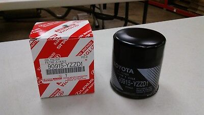 Five 5 90915 YZZD1 Genuine Toyota Oil Filters for Avalon and Camry