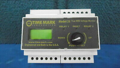 Time Mark Model 26 True Rms Voltage Monitor