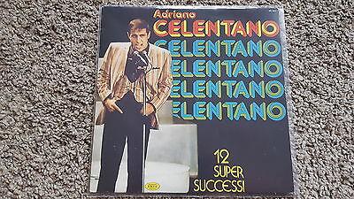 Adriano Celentano - 12 Super Successi Vinyl LP