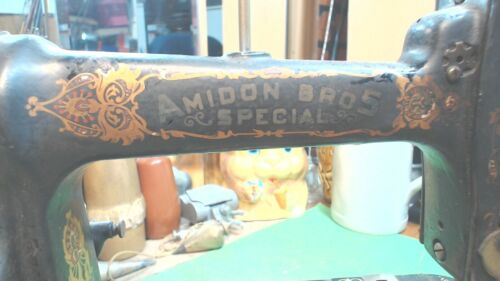 Vintage- Antique---Amidon Bros. SPECIAL-- Sewing Machine -or- Misc. Parts