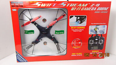 Fly The Best Swift Stream Z-9 Wi-Fi Camera Drone Indoor/Outdoor Smart Phone