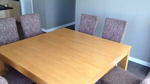 Dining table and 8 chairs Butler Wanneroo Area Preview