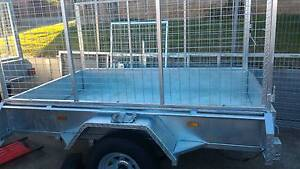 7X4 Trailer new H duty gal. Tilt winch. 500mm high sides Dapto Wollongong Area Preview