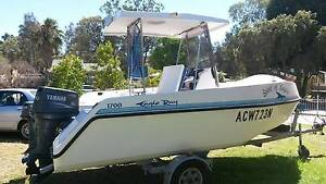 EAGLE RAY 1700 CENTER CONSOLE/BOW RIDER TRI-HULL. Campbelltown Campbelltown Area Preview