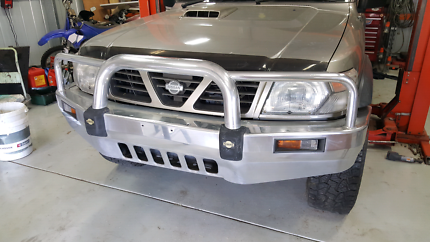 Nissan Patrol GU Genuine Alloy Bullbar