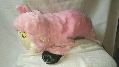 Pet Dog Super CUTE 3 piece PIGGIE Halloween Costume Hat w. Ears Feet & Toy M 16