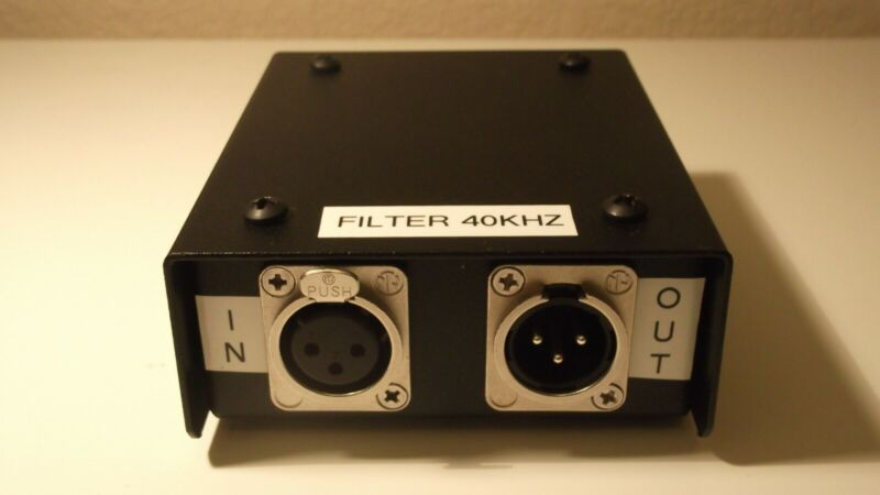 40KHZ PORTABLE MEASUREMENT FILTER FOR CLASS D AMPLIFIERS - AUDIO AND ULTRASONIC