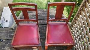 Two Vintage South African Chairs Naremburn Willoughby Area Preview