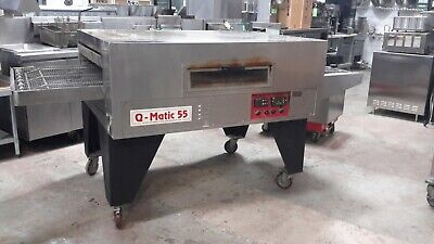 Used Q Matic 55 Pizza Oven