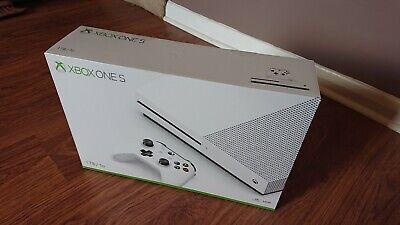 Microsoft xbox one s White 1tb console
