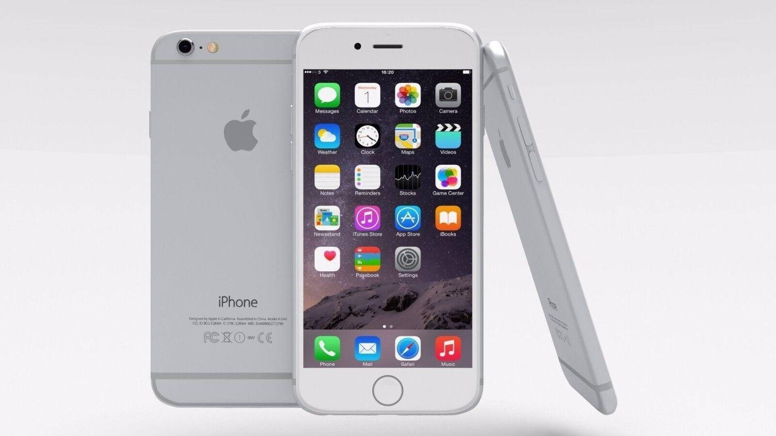 Apple iPhone 6 - 16GB 64GB 128GB (GSM Unlocked) Smartphone Gold Gray Silver