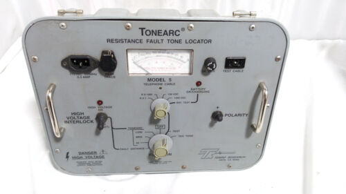 Tempo ToneArc 5 Resistance Fault Tone Locator Model 5 Telephone Cable