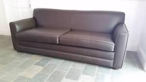 2 x Sofas plus Sofa Bed - matching set