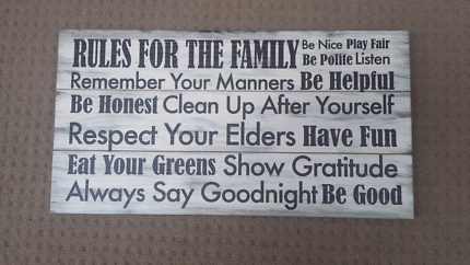 Rules Fot The Family room decor