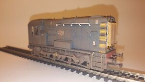 Bachmann Branchline Class 08 No. 08375 in BR Blue - Custom Weathered (32-111A)