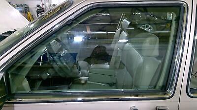91-93 Cadillac Deville FWD Driver Left Front Door Glass / Window OEM