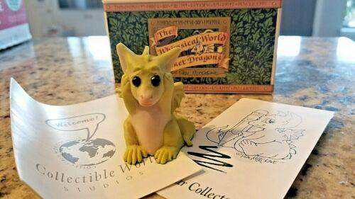 Vintage 1992 Whimsical World Of Pocket Dragons Oops! Real Musgrave NIB