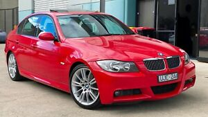 2006 BMW 325i M SPORT E90 - SUPER RARE JAPAN RED - FULL HISTORY - FINANCE & TRADE INS WELCOME