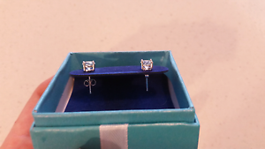 2ct Natural blue topaz stud earings Bondi Junction Eastern Suburbs Preview