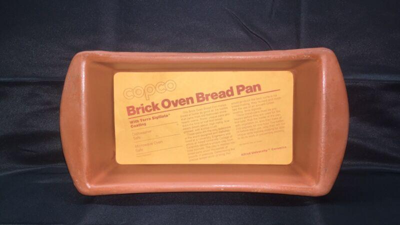 Copco AU7 401 Clay Non-Stick Stoneware Bread Loaf Baking Pan