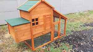 ❤❤ CHICKEN COOP RABBIT HUTCH 171CM LONG MINI LOP PACKAGE DELUXE Londonderry Penrith Area Preview