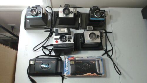 6 vintage Polaroid  Instant camera lot