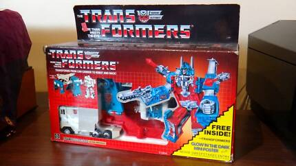 Transformers G1 ULTRA MAGNUS in Box 1987 Movie Edition! Near MIB!