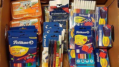 30 Teile Büro & Schreibwaren Paket Markenware Restposten Sonderposten NEU