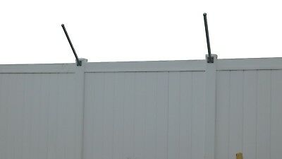 45-degree Extend-a-post Extensions- Woodpvc Fence - Flat Or Surface Mount - 10