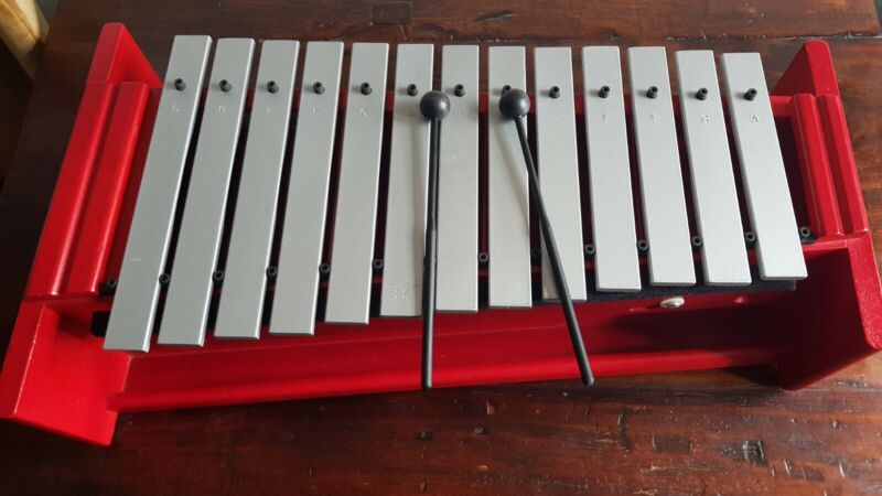 Alto Metallophone Percussion Plus with damper, extra keys and beaters