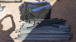 8f by 12f rectangular trampoline net with bars and fixings $50 Duncraig Joondalup Area Preview