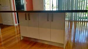 Complete Kitchen Island Caesarstone bench w cupboards underneath Eastwood Ryde Area Preview