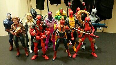 Marvel Legends Action Figures Deadpool Captain Marvel Vision Cloak and Dagger