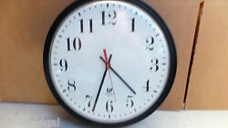Used 14 Chicago Lighthouse Wall Clock, Quartz, Bold #s, YOUR CHOICE OF ONE BELO
