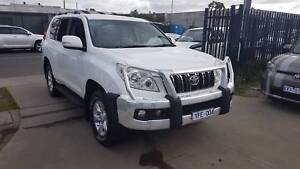 2011 Toyota Landcruiser Prado GXL AUTO TURBO DIESEL Williamstown North Hobsons Bay Area Preview