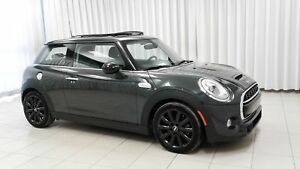 2016 MINI Cooper S 3 DOOR TURBO w/ NAVIGATION, HEATED SEATS & LE