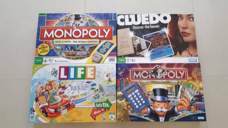 Monopoly, Game of Life,Cluedo | Board Games | Gumtree