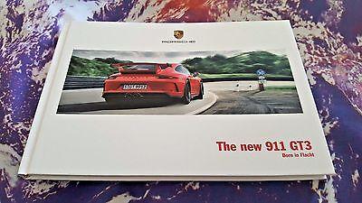 Porsche 911 GT3 (991.2) 03/2017 121 pg Hardback Brochure