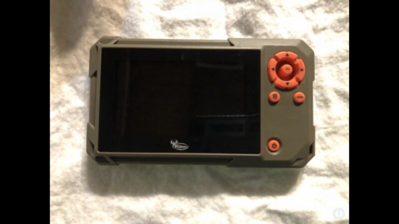 Wildgame Innovations VU60 Trail Pad Handheld Card Viewer - Brown